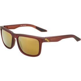 100% Blake Cykelbriller, matte rootbeer